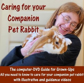 Caring for your Companion Pet Rabbit - a DVD Guide for Grown-Ups